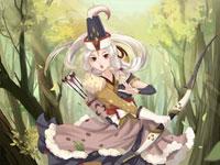 同人插画大赛热门作品:美丽的白狼公主
