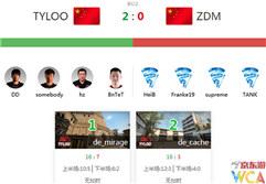 WCA2017总决赛中国区预选赛 CS:GO第17日战报