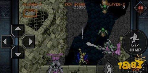 卡普空经典游戏《大魔界村》登陆移动平台