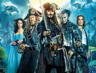 《加勒比海盗5》:迪士尼又多了个爸爸