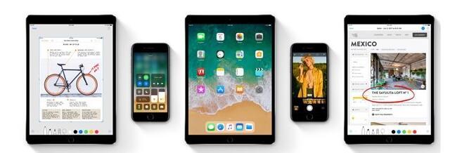苹果iOS 11新功能曝光 同时拖动多图标