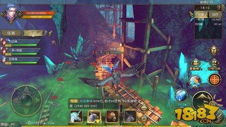 矿洞猎蜥 太极熊猫3猎龙蜥蜴矿洞通关技巧
