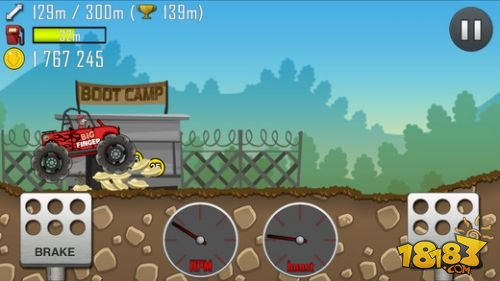 趣味赛车游戏 《登山赛车》官方免费版下载