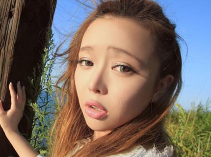 娇嫩女孩北海道游玩阳光清新唯美写真