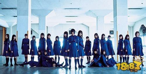 日本偶像女团欅坂46官方手游《欅之奇迹》公布