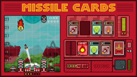 Steam佳作移植 策略卡牌《导弹卡》登陆移动平台
