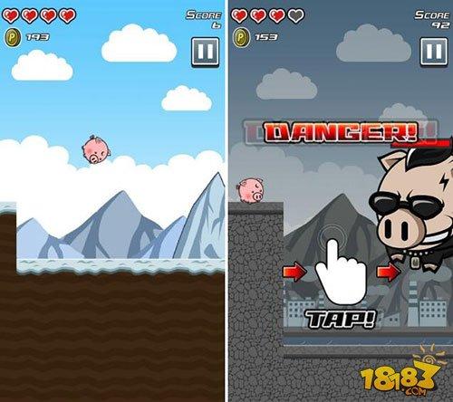 个人开发游戏 《Bounding pig》双平台上架