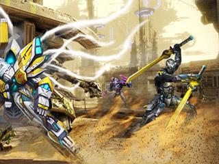 选择机甲与敌人战斗 动作手游《星际无双》即将来袭