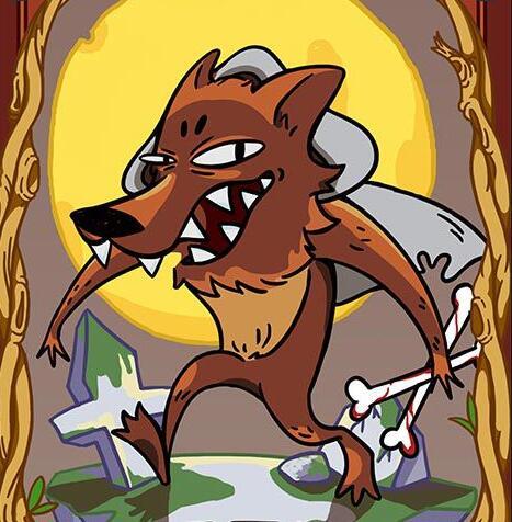 狼人头像图片大全霸气