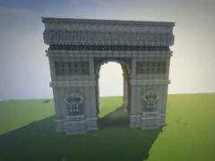 鬼影我的世界建筑展示:凯旋门