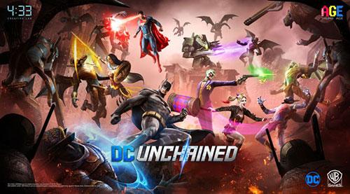 4:33获得DC授权 将推出手游新作《DC Unchained》