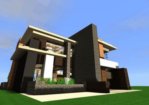 迷你世界房子設計圖 迷你世界別墅制作方法