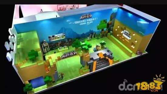 网易游戏的2017ChinaJoy,热情似火的展台点燃玩家激