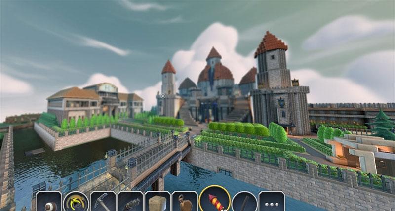 城堡图标素材 ytouxi