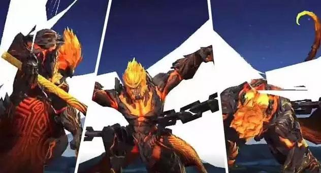 地狱火皮肤体验服优化曝光 玩家PS史诗特效