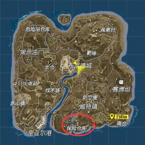 终结者2保险仓库地图攻略 平平无奇的危险地带