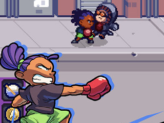 横版热血格斗游戏 《格斗街区》上架iOS