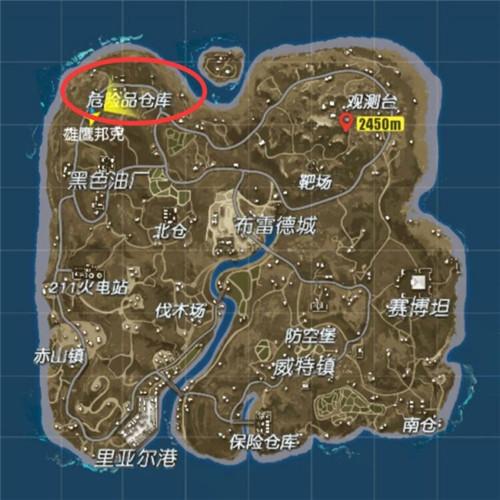终结者2危险品仓库地图攻略 贫瘠的边陲之地