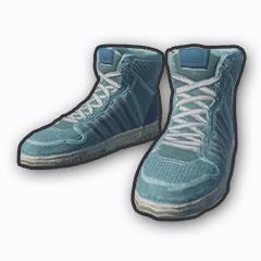 绝地求生终极战场蓝色高帮球鞋装饰品介绍