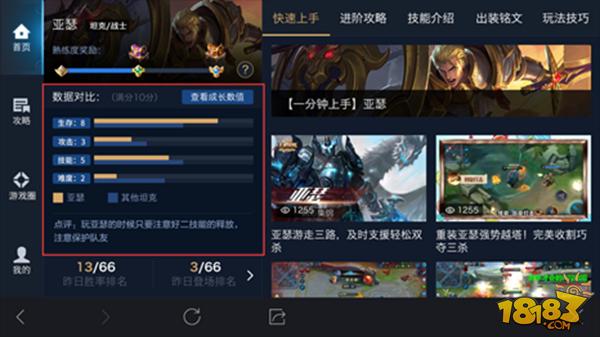 12月6日体验服英雄展示界面优化 玩家上手更容易