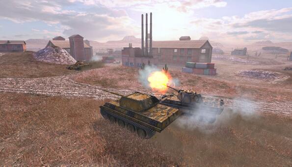 国服地图泄露 坦克世界闪击战游戏特色曝光