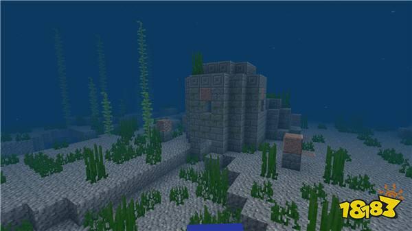 新的海底遗迹 我的世界海洋版本震撼曝光