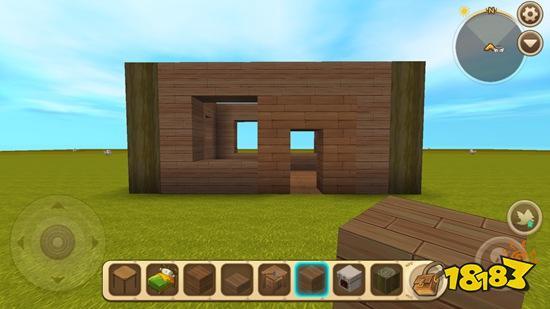 迷你世界復古風冒險小屋教學 生存房子必備教程