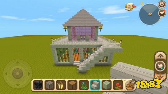 """在迷你世界中,你想擁有自己的房子嗎?但是沒有辦法建造一個漂亮的房子。以下是迷你世界玩家的""""無聲雨""""——""""水記憶""""給大家——迷你世界精致別墅建筑教程!讓我們一起學習,做一個自己的小家。 先看看這間精致的小屋的全景吧!嗯,這是一個溫暖的小家。"""