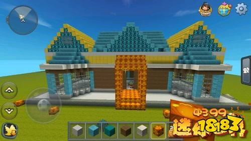 迷你世界房子设计图 好房子统统