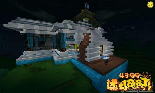 迷你世界房子设计图 好房子统统都在这里