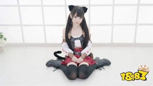 """咬人猫作为国内著名舞姬,b站人气up主,可爱的她被粉丝昵称为""""圆脸猫"""""""
