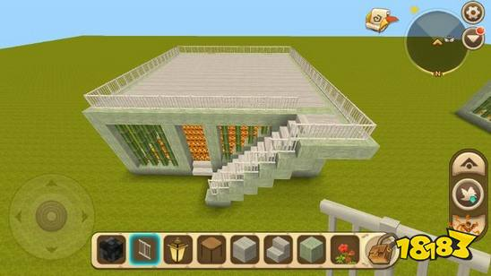 迷你世界別墅的建造十分簡單,首先使用你喜歡的方塊搭建房屋基底,然后在直角處加上柱子就可以做出別墅的雛形了,之后選擇自己喜歡的地板和屋頂材料,把一樓地板和屋頂都填充起來!再加上樓梯、燈等裝飾,別墅就建好了。