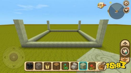 迷你世界别墅的建造十分简单,首先使用你喜欢的方块搭建房屋基底,然后在直角处加上柱子就可以做出别墅的雏形了,之后选择自己喜欢的地板和屋顶材料,把一楼地板和屋顶都填充起来!再加上楼梯、灯等装饰,别墅就建好了。