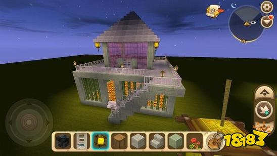 迷你世界別墅怎么建