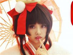 神乐·莺燕鸣樱 阴阳师神乐cosplay