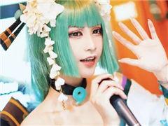 麦霸灯姐倾情献唱 阴阳师青行灯cosplay