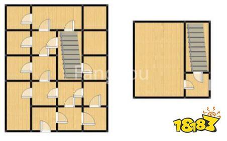 明日之后防抄家建筑设计图分享 变态式迷宫防守建筑设计图