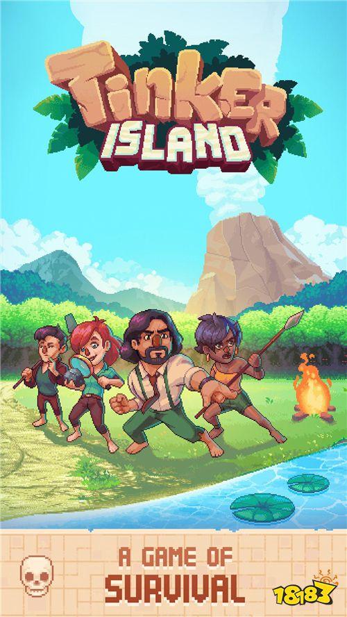 玩家将扮演一名孤岛上的冒险者,需帮助三位幸存者在岛上生存下去,带领