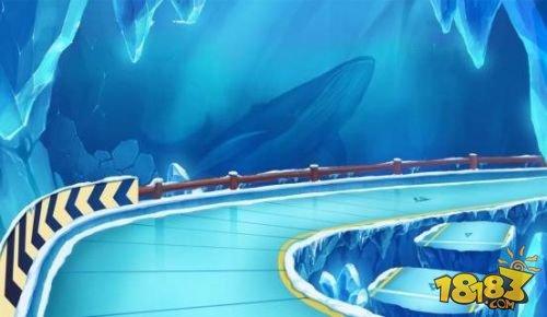 qq飞车手游极地冰镇地图的近道在哪里