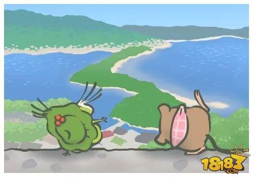 人不如呱 《旅行青蛙》中呱儿子去过的景点你都知道吗