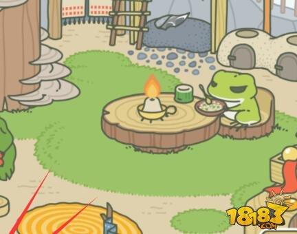 旅行青蛙中你的青蛙出门旅行是要看心情的,所以你没办法琢磨他什么图片