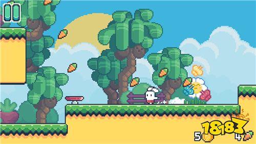 躲开,你将跳跃一个可爱的小动物世界,v兔子你的小疯兔子进入来游戏各拯救恐龙小游戏2图片