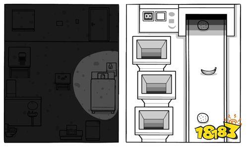 漫画风解谜游戏新作《The White Door》预计8月推出