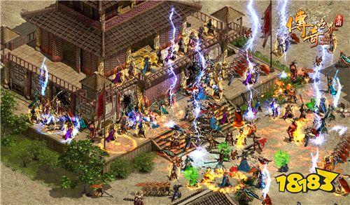 回到2006年 《传奇世界手游》复古区今日震撼公测