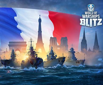 《战舰世界 闪击战》推出新战舰