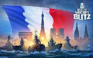 《战舰世界 闪击战》宣布推出八艘全新法国战舰