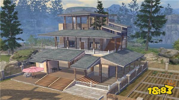 明日之后房子设计图(六)古风建筑庄园推荐图片