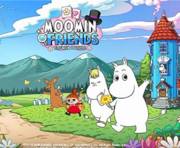 《MOOMIN FRIENDS》预约开始