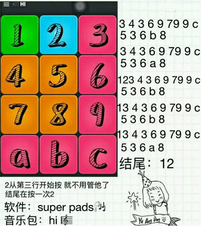 superpads shape of you superpads谱子图文视频教程分享