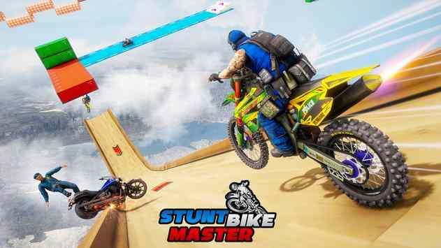 摩托车特技竞技游戏图片1